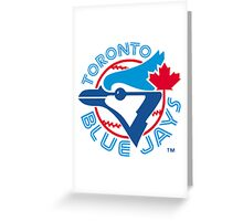 America's Game - Toronto Blue Jays Greeting Card