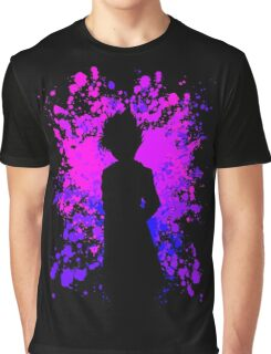 Hiei Paint Splatter Anime Manga Shirt Graphic T-Shirt