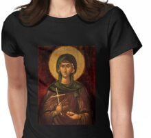 Saint Irene Vintage Icon Womens Fitted T-Shirt