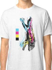 CMYK Wolf Classic T-Shirt