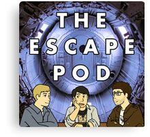 Escape Pod Square Canvas Print
