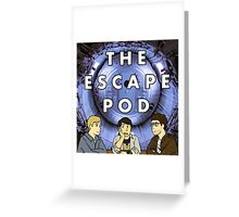 Escape Pod Square Greeting Card