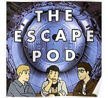 Escape Pod Square Poster