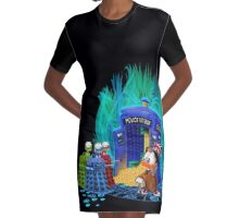 The Ducktor Tales Graphic T-Shirt Dress