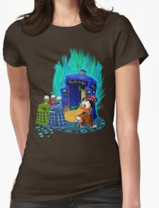 The Ducktor Tales Womens Fitted T-Shirt