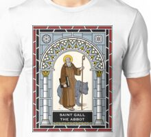SAINT GALL under STAINED GLASS Unisex T-Shirt