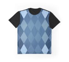 Abstraction #121 Blue Diamonds Graphic T-Shirt