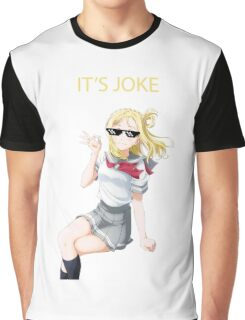 IT'S JOKE Graphic T-Shirt