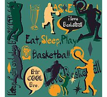 Basketball Love Photographic Print