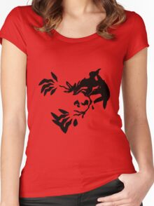 Yveltal Shadow Women's Fitted Scoop T-Shirt