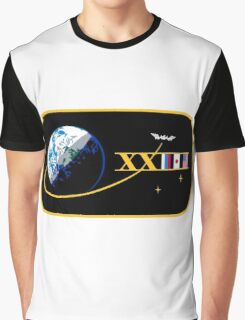 Expedition 23 Mission Patch Graphic T-Shirt