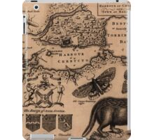 Map Of Halifax 1750 iPad Case/Skin