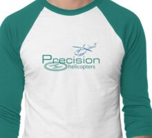 Precision Helicopters T Men's Baseball ¾ T-Shirt