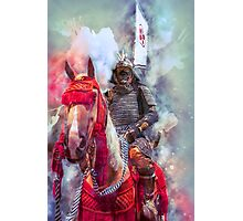 18th Century Samurai Warrior Photographic Print