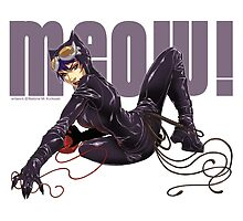 MEOW! - CATWOMAN by Bettina Kurkoski