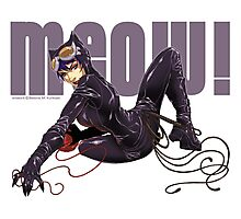 MEOW! - CATWOMAN Photographic Print