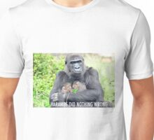 Harambe Did Nothing Wrong Unisex T-Shirt