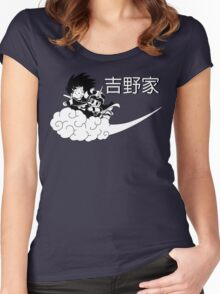 Goku and Chichi  Women's Fitted Scoop T-Shirt