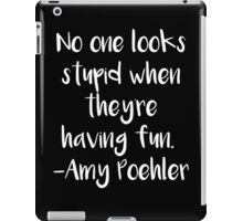 No One Looks Stupid iPad Case/Skin