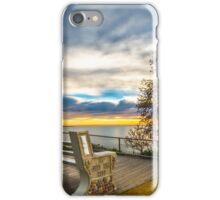 Vista seat iPhone Case/Skin
