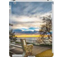 Vista seat iPad Case/Skin