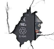 Iphone crash by Unai Ileaña