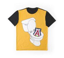UofA Toilet - Gold Graphic T-Shirt