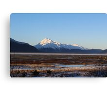 Chilkat Winter  Canvas Print