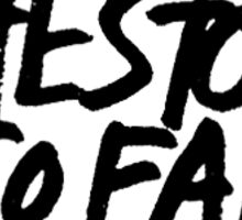 The Story So Far  Sticker