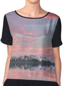 Reflections Of Yesterday Chiffon Top