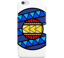 Colorado Tribal Flag: True Colour iPhone Case/Skin