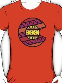 Colorado Tribal Flag: Pinks T-Shirt