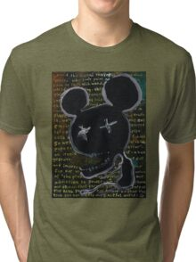 the darkness at the heart of the modern world Tri-blend T-Shirt