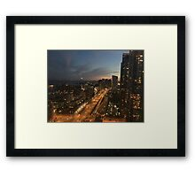 Downtown Toronto City Framed Print