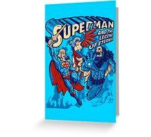 Super He-Man  Greeting Card