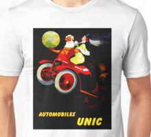 """UNIC AUTOMOBILES"" Vintage Advertising Print Unisex T-Shirt"