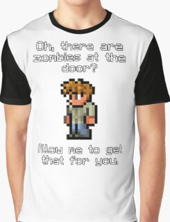 Guide Likes Zombies Graphic T-Shirt