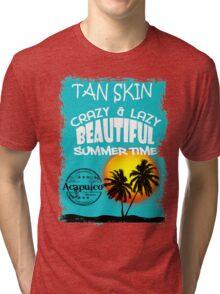 Fun Beach Acapulco Tri-blend T-Shirt
