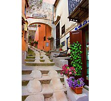 Uphill in Maratea Photographic Print