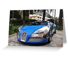 Bugatti Veyron 16.4 Centenaire Greeting Card