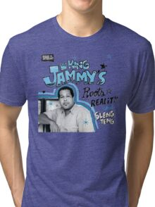 Reggae Anthology : King Jammy's - Roots, Reality And Sleng Teng Tri-blend T-Shirt