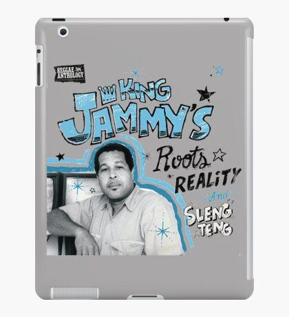 Reggae Anthology : King Jammy's - Roots, Reality And Sleng Teng iPad Case/Skin