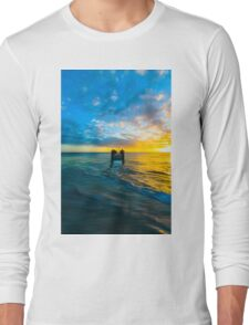 Quindalup Jetty  Long Sleeve T-Shirt