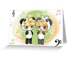 Rin and Len Greeting Card