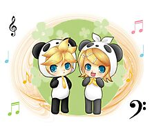 Rin and Len Photographic Print