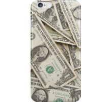 American One Dollar Bills iPhone Case/Skin