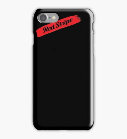 Jamaican Chillin' With A Red Stripe  iPhone Case/Skin