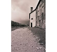 Farmhouse in Vipava valley Photographic Print