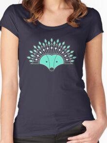 Hedgehog Fan Women's Fitted Scoop T-Shirt