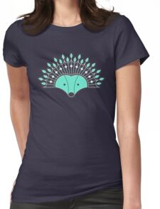 Hedgehog Fan Womens Fitted T-Shirt
